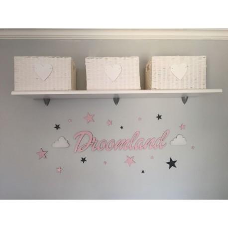Droomland nursery decor set