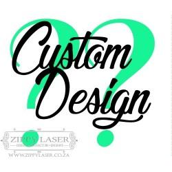 Custom design cake topper