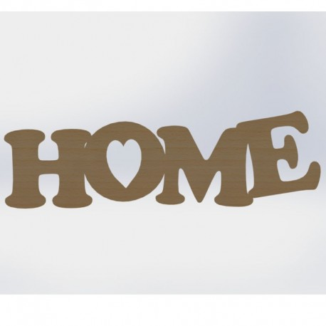Home sign Large 216 x700mm