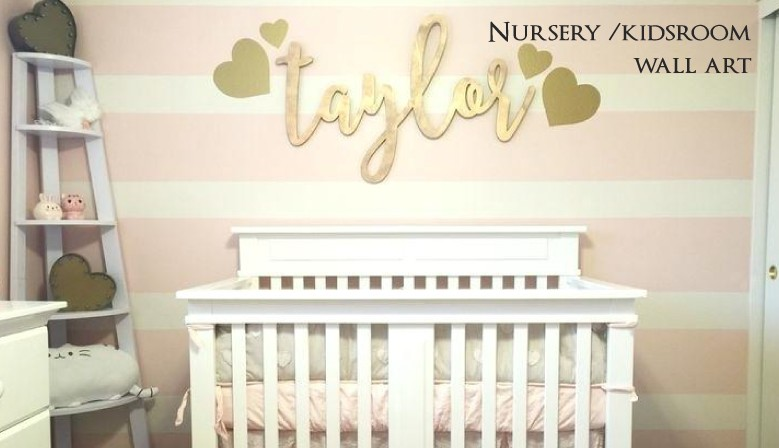 Custom made to order nursery decor